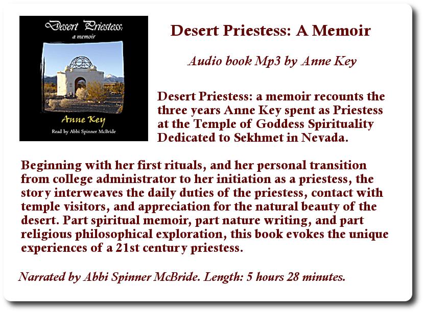 Desert Priestess Sales Graphic