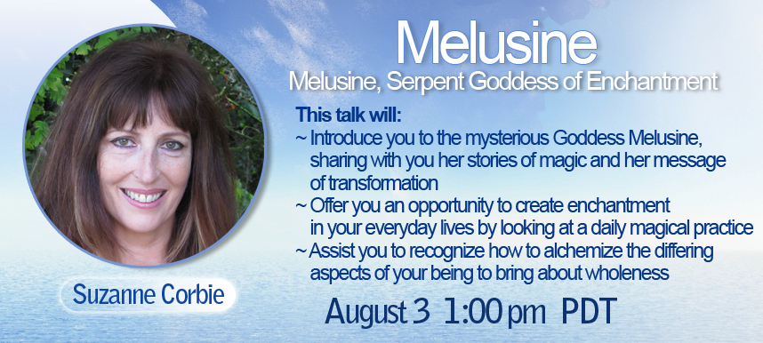 Suzanne Corbie Celebrate the Goddess Telesummit